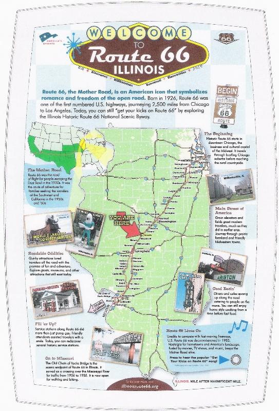 Logan County tourism director a busy man Route 66 News – Tourist Attractions Map In Illinois