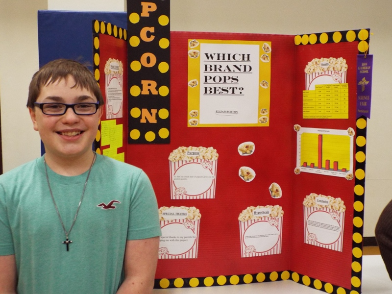 ... Which Is Best At Zion Lutheran Open House And Science Fair Last Week